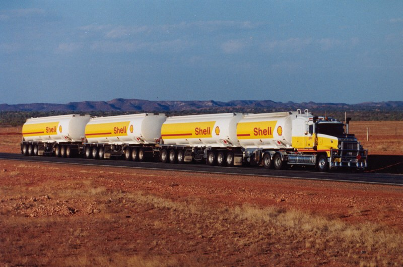 Road Train (Photo courtesy of Hans Boessem)